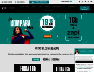 ptvtelecom.com screenshot