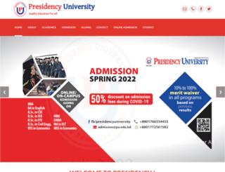 pu.edu.bd screenshot