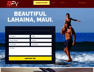 puamanavacations.com screenshot