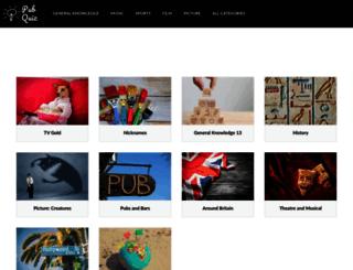 pub-quiz.uk screenshot