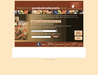 pub-restaurant.co.uk screenshot