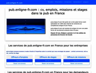pub.enligne-fr.com screenshot