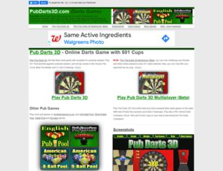 pubdarts3d.com screenshot
