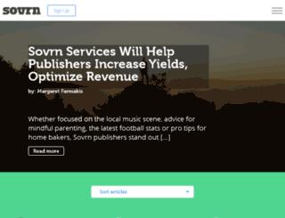pubhub.sovrn.com screenshot
