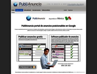 publianuncia.com screenshot