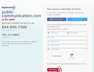 public-communication.com screenshot