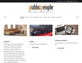 public-people.de screenshot