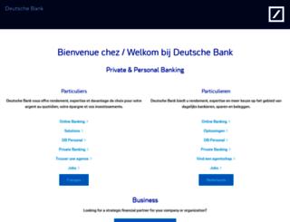 public.deutschebank.be screenshot