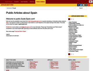 public.guide-spain.com screenshot