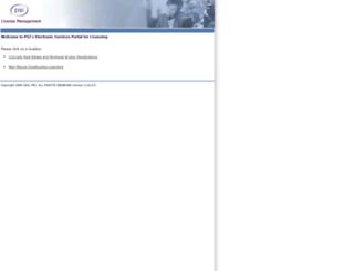 public.psiexams.com screenshot
