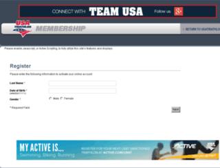 public.usatriathlon.org screenshot