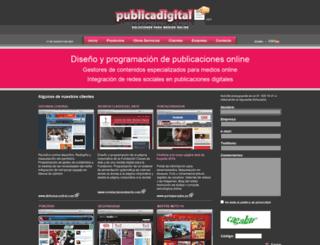 publicadigital.com screenshot