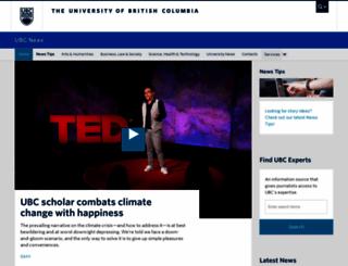 publicaffairs.ubc.ca screenshot