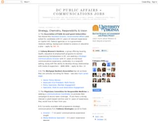 publicaffairsjobs.blogspot.com screenshot