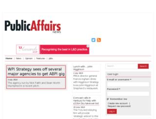 publicaffairsnews.com screenshot