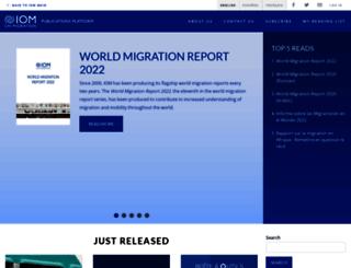 publications.iom.int screenshot