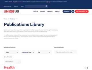 publications.nclr.org screenshot