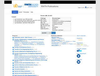 publications.rwth-aachen.de screenshot