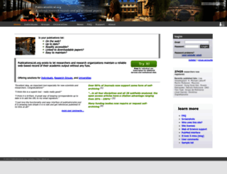 publicationslist.org screenshot