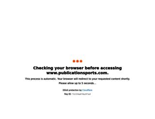 publicationsports.com screenshot