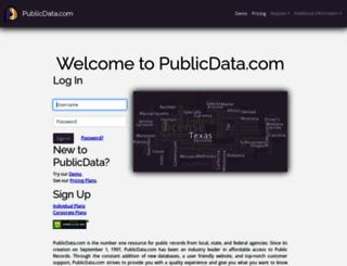publicdata.com screenshot