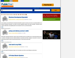 publicdial.com screenshot