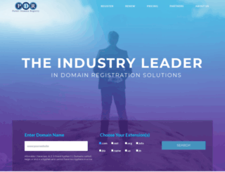 publicdomainregistry.com screenshot