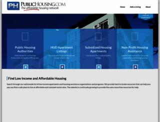 publichousing.com screenshot