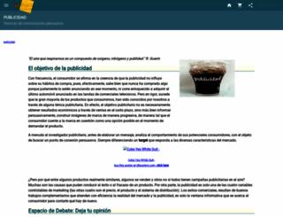 publicidad.idoneos.com screenshot
