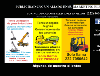 publicidadcnc.com screenshot