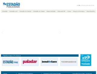 publicidade.estadao.com.br screenshot