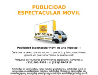 publicidadespectacularmovil.com screenshot