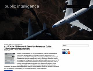 publicintelligence.net screenshot