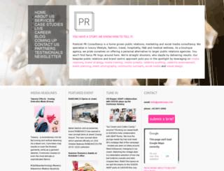 publicistpr.com screenshot