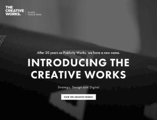 publicityworks.com.au screenshot