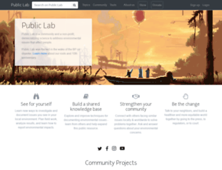 publiclab.org screenshot