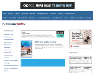 publiclawtoday.co.uk screenshot