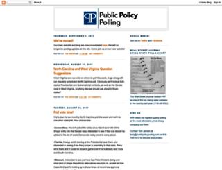 publicpolicypolling.blogspot.com screenshot