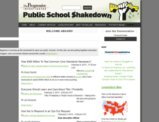 publicschoolshakedown.org screenshot