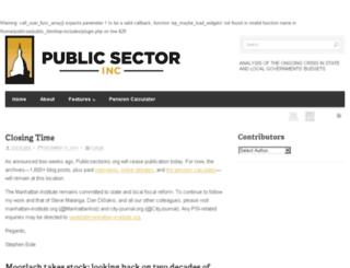 publicsectorinc.com screenshot