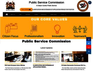 publicservice.go.ke screenshot