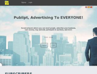 publipt.com screenshot