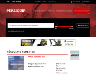 publiquip.com screenshot