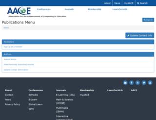 publish.aace.org screenshot