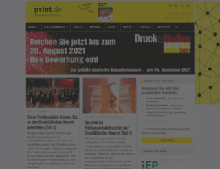 publish.de screenshot
