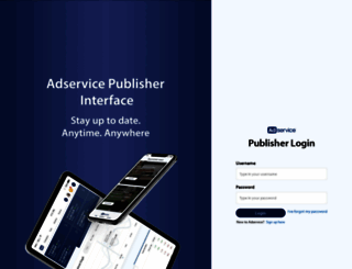 publisher.adservice.com screenshot