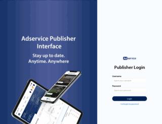 publisher.adservice.dk screenshot