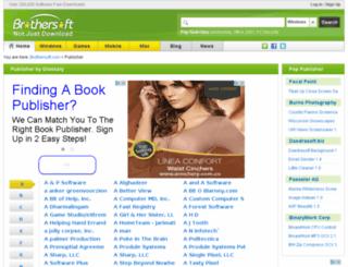 publisher.captivatesoftware.org screenshot