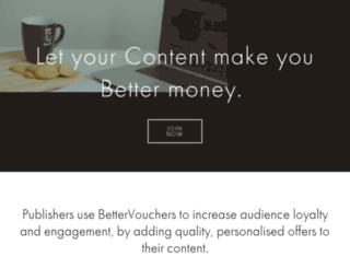 publishers.bettervouchers.com screenshot