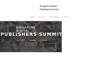 publishersummit.asia screenshot